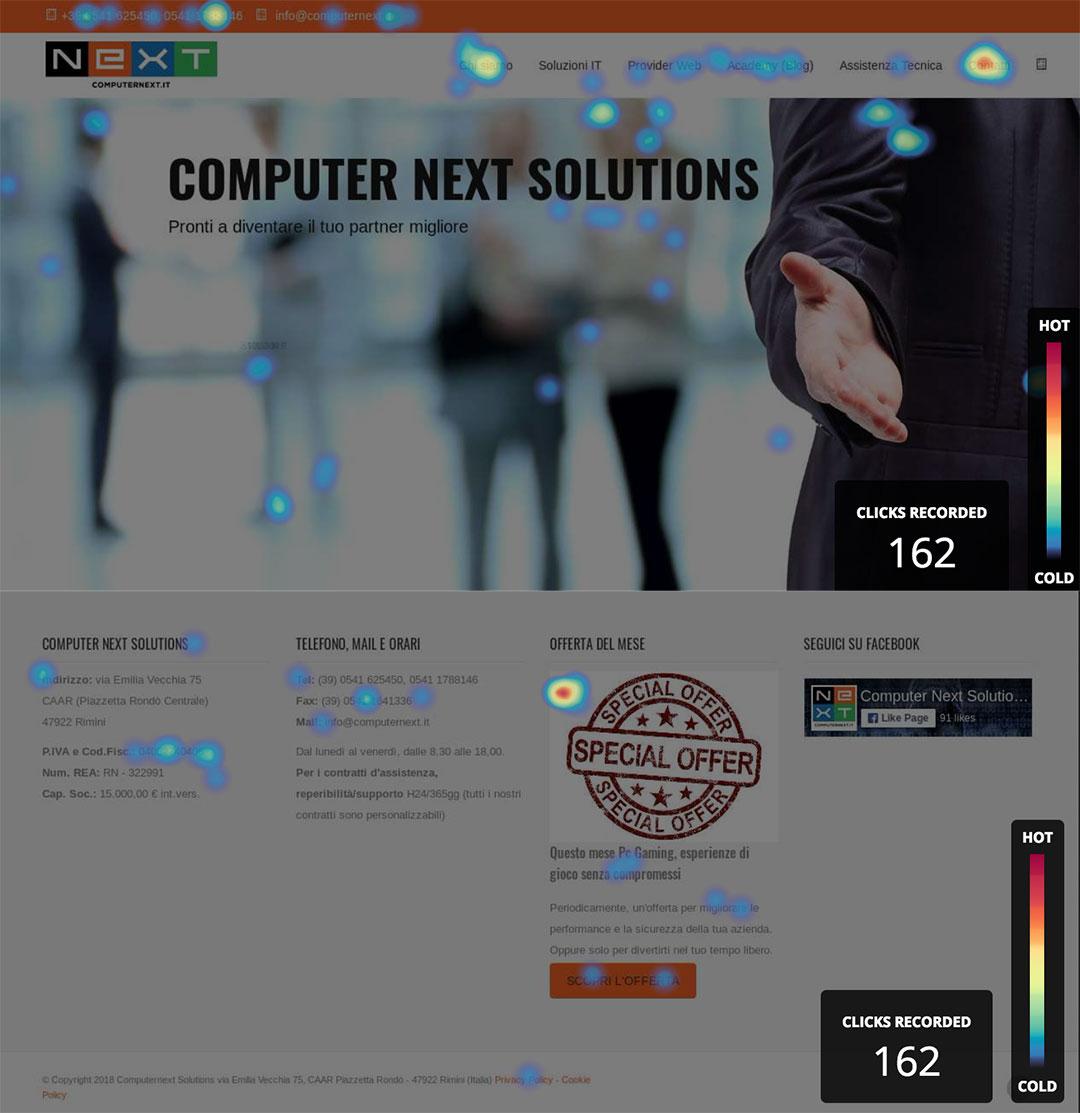 Mappe di calore computer next