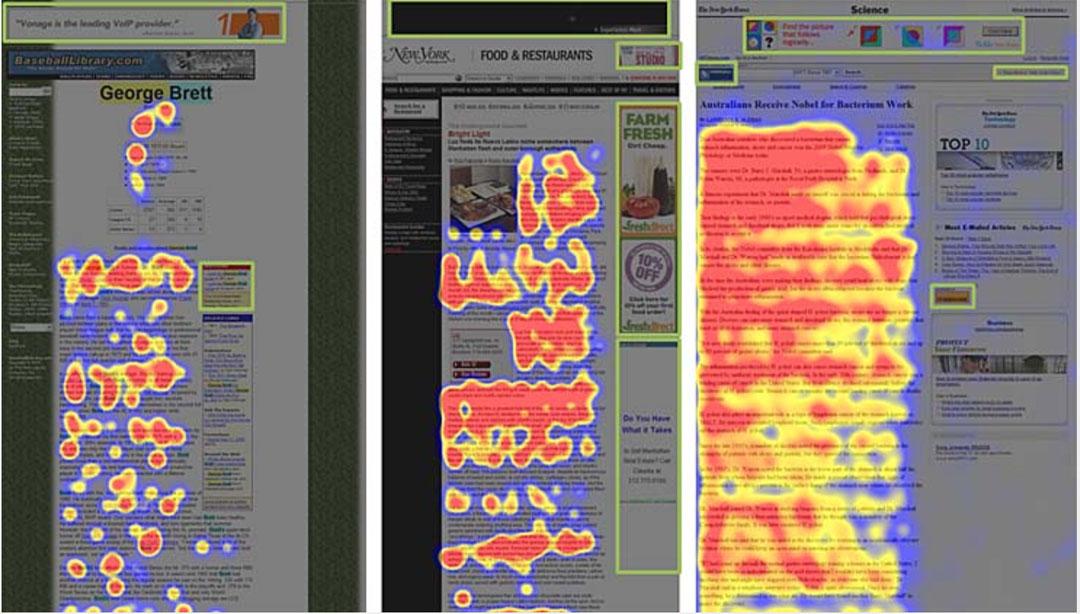 Mappe di calore banner